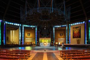 Frederick Gibberd _ Liverpool Metropolitan Cathedral int